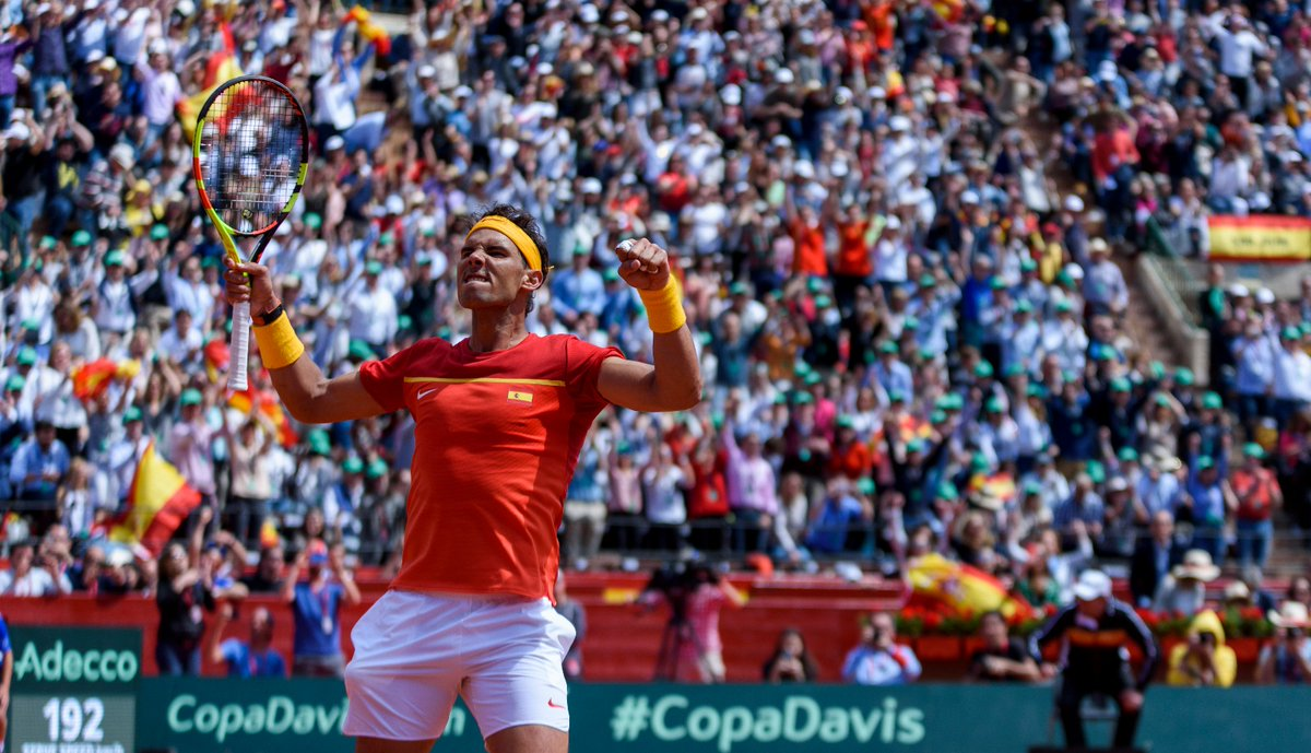 Nadal Goes All In-River Oaks Record