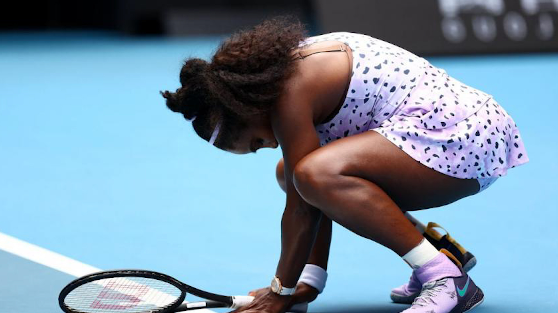 Serena's Strategy Not Working