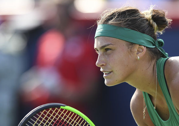 Sabalenka Streaks to Victory after Dropping 10 on the Trot in Ostrava