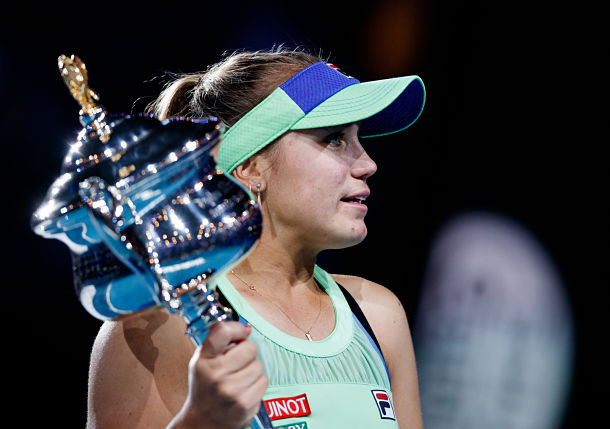 Sofia Kenin Parts Ways with Management After Career Year
