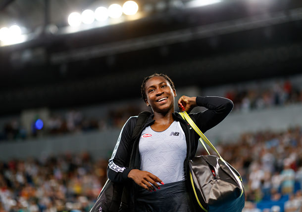 Coco Gauff Continues to Inspire with Fiery Speech to Peaceful Protesters in Delray Beach