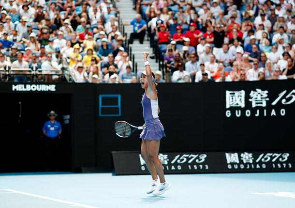 Australian Open Wang Qiang